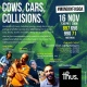 Cows, Cars, Collisions - A discussion on the problem of abandoned Cows on Goa's roads #mondayfixgoa 16th Nov 7.30 pm