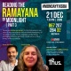 Reading Ramayana by moonlight - part 3| Dec 21st 7.30 pm 2020 #mondayfixgoa