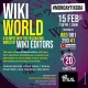 Wiki World : A glimpse into the fascinating world of wiki editors- 20th year of Wikipedia - 15th February 2021 7.30 pm